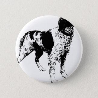 English Springer Spaniel  Sporting Pets Dogs Pinback Button