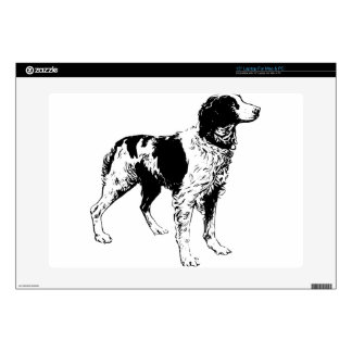 """English Springer Spaniel  Sporting Pets Dogs Decals For 15"""" Laptops"""