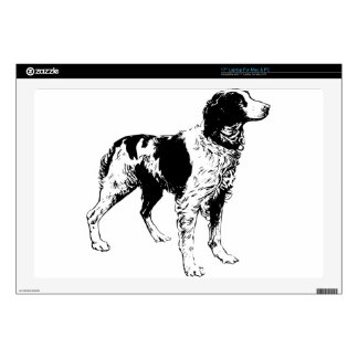 English Springer Spaniel  Sporting Pets Dogs Skin For Laptop