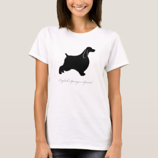 English Springer Spaniel T-shirt (black)