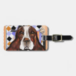ENGLISH SPRINGER SPANIEL TAG FOR LUGGAGE
