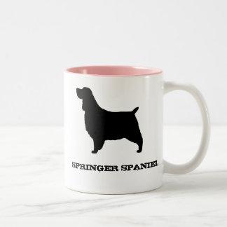 English Springer Spaniel Two-Tone Coffee Mug