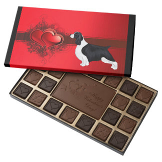 English Springer Spaniel Valentine Chocolate Box