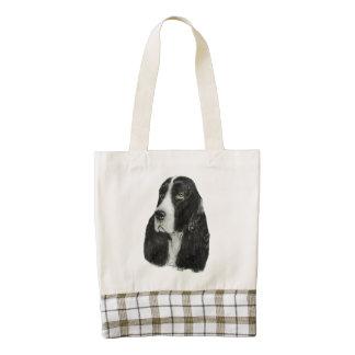 English Springer Spaniel Zazzle HEART Tote Bag