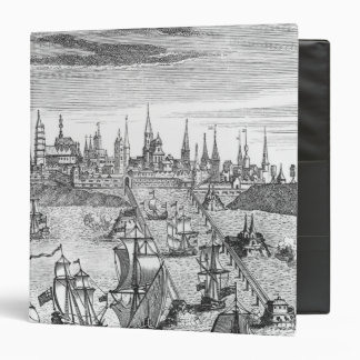 English Squadron Carrying Troops 3 Ring Binder