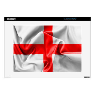 "English St Georges Cross Flag 15"" Laptop Skin"