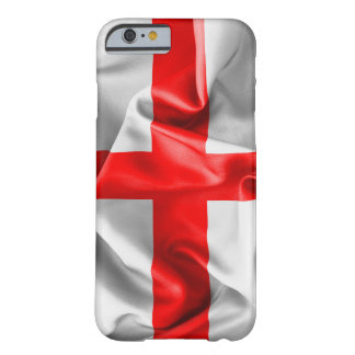English St Georges Cross Flag Barely There iPhone 6 Case