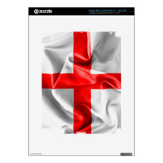 English St Georges Cross Flag Decal For iPad 3