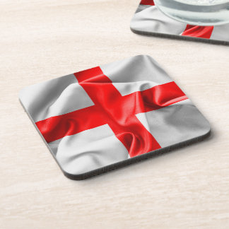 English St Georges Cross Flag Drink Coaster