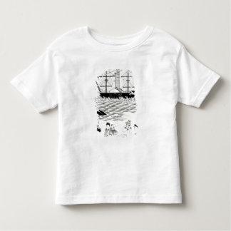 English Steamship at Canton, 1840 Tee Shirt