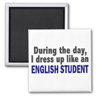 English Student During The Day Magnet