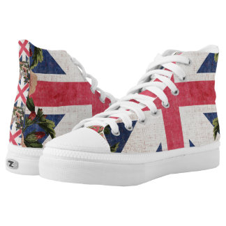 English Style Hightop Shoes