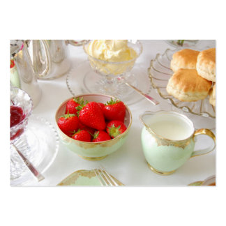 English Tea Rooms Customisable Business card