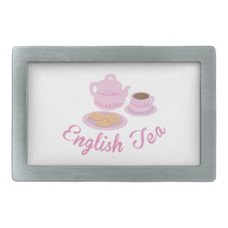 English Tea Time English Tea Belt Buckle