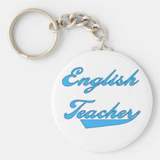 English Teacher Blue Keychain