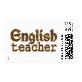 English Teacher Custom Postage Stamp