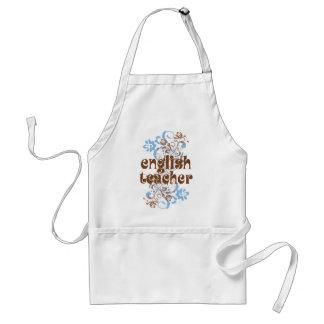 English Teacher Cute Gift Adult Apron