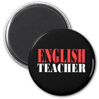 English Teacher Gift 2 Inch Round Magnet