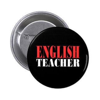 English Teacher Gift Button