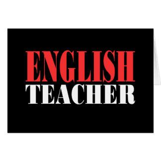 English Teacher Gift Card