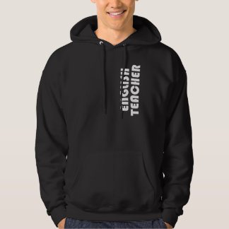 English Teacher Gift Hooded Pullover