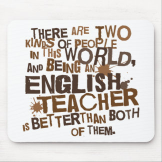 English Teacher Gift Mouse Pads