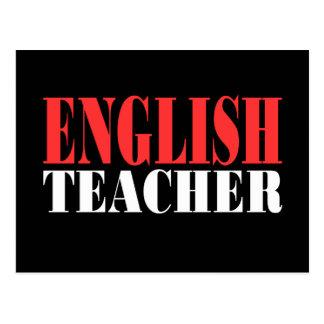 English Teacher Gift Postcard