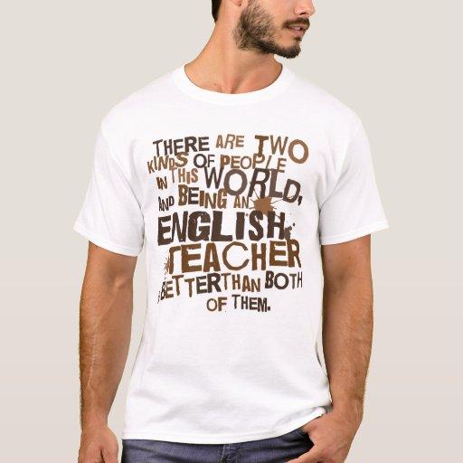 English Teacher Gift T-Shirt