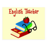 English Teacher Gifts Postcards