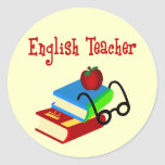 English Teacher Gifts Stickers