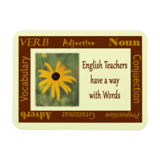 English Teacher magnet