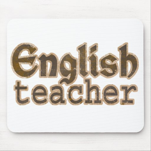 English Teacher Mousepad