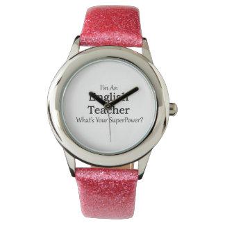English Teacher Wrist Watches
