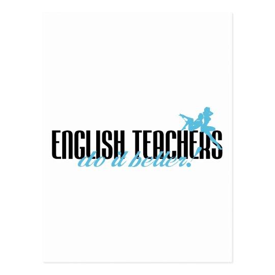English Teachers Do It Better! Postcard