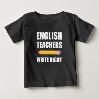 English Teachers Write Right Baby T-Shirt
