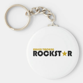 English Teaching Rockstar Keychain