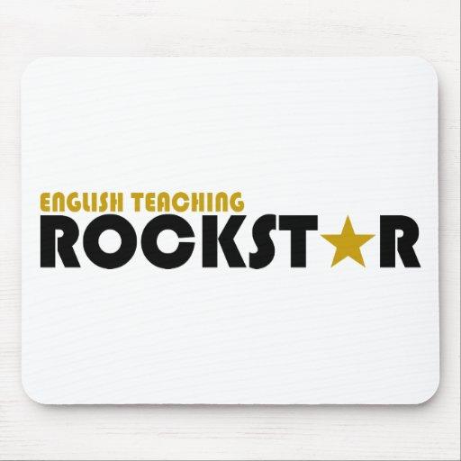 English Teaching Rockstar Mouse Pad