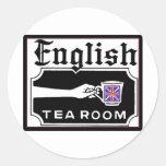 English Tearoom Stickers