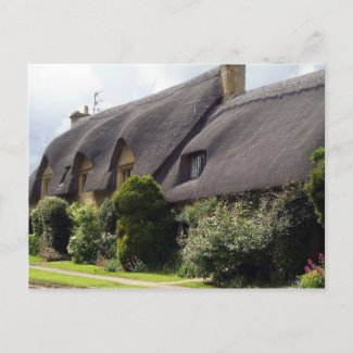 English Thatched Cottage Post Cards