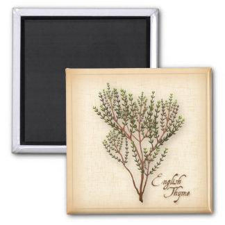 English Thyme Herb Magnet