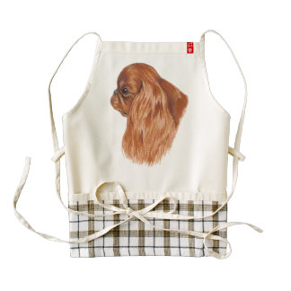 English Toy /King Charles Spaniel Apron