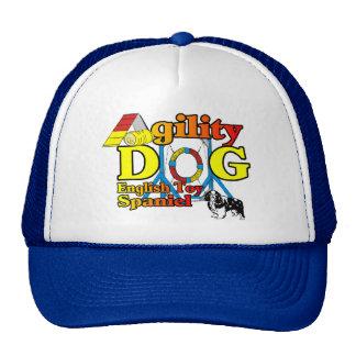 English_Toy_Spaniel_Agility Gifts Trucker Hat