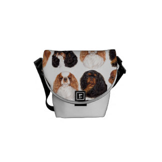 English Toy Spaniel Bag , All four Colours Messenger Bags