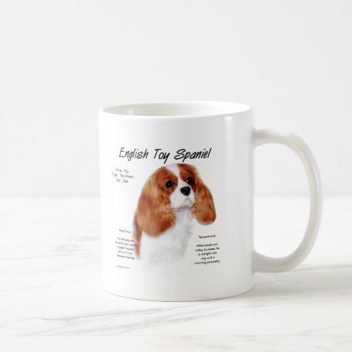 English Toy Spaniel (blenheim) History Design Coffee Mugs