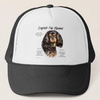 English Toy Spaniel (king charles) History Design Trucker Hat
