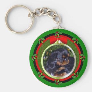English Toy Spaniel King Charles Keychain