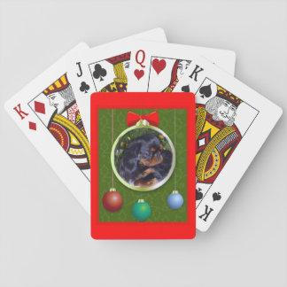 English Toy Spaniel King Charles Poker Deck