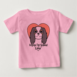 English Toy Spaniel Lover Baby T-Shirt