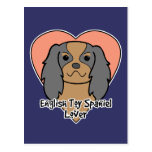 English Toy Spaniel Lover Postcard