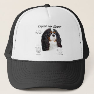 English Toy Spaniel (princecharles) History Design Trucker Hat